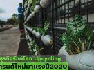 ธุรกิจรักษ์โลก Upcycling เทรนด์ใหม่มาแรง ปี 2020