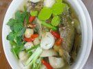 ต้มยำปลาเนื้ออ่อนแห้ง